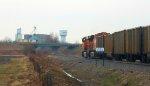 BNSF 5664 & BNSF 6104 as DPU