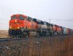 BNSF 6269, BNSF 9697, BNSF 5770, & BNSF 6266
