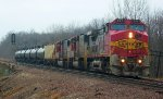 BNSF 657, BNSF 8224, & BNSF 8263