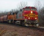 BNSF 791 & BNSF 8874