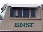 BNSF 9508 cab