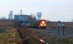 BNSF 9324 leads coal empty