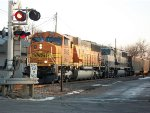 BNSF 9882 & BNSF 9822 lead empty coal