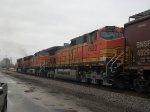 BNSF 999, BNSF 4867, & BNSF 4920