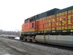 BNSF 5276 East leads Maintaince Machinery Special