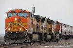 BNSF 5214, UP 5039, & BNSF 4175 leads BNSF 9GCRMEB 23