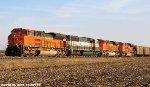 BNSF 9273, BNSF 9413, BNSF 9324, & BNSF 9345 lead C-NAMPAM