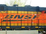 "BNSF ""Swoosh"" Decal."
