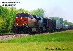BNSF ES44C4 6618 & NS SD60I 6747