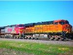 BNSF 7390 & BNSF 681
