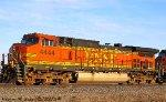 BNSF 4444 leads BNSF H-MADGAL