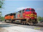 OLS BNSF 783 & BNSF 6331
