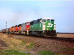 BNSF 8144, BNSF 8290, BNSF 9278, BNSF 8856, & BNSF 759