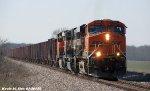 BNSF 5765, BNSF 9619, & BNSF 5721 lead UBISLJ-16