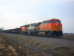 BNSF 5666, BNSF 9662, & BNSF 5601 on U-MADALL