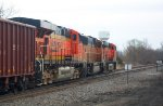 BNSF 6025, BNSF 9973, & BNSF 6015 on U-MADALL