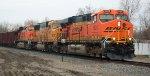 BNSF 6025, BNSF 9973, & BNSF 6015 on U-MADALL