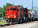 GTW 5844 & CN 9460 lead CN L-550