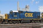 CSXT GP15-1 1542