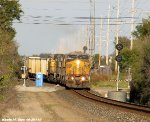 UP 6760, UP 6049, UP 7270, UP 6370, UP 7321 &  6893 lead CSXT E699-06
