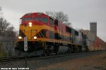 KCS Southern Belle SD70MAC 3913 leads CSXT Q106-04.