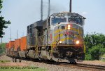 KCS 3914 & CSXT 919 lead CSXT Q106-21