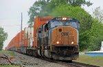 CSXT 4708 & KCS 3961 lead CSXT Q106-22