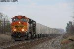 BNSF 5713 leads NS 255