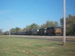 UP 4017 & NS 9781
