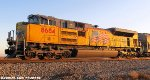 Brand new UP SD70ACe 8684 leads NS 318