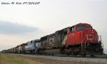 CN 5775, CN 5403, BCOL 4603 on NS 437