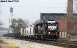 NS 5356 & NS 5108 lead Springfield local