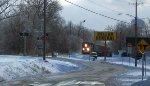UP 5821 & UP 6162 w/ snow drifts