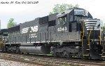 NS SD40E 6343