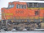 BNSF 5202 & BNSF 5349 lead NS 901 FRA Train