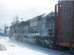 NS 2613 & NS 6577 w/ snow drifts