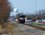NS SD70M-2 2655 leads NS D27