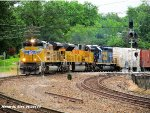 UP 8490, UP 8224, & CSXT 8410 West lead MINNP-02