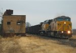 UP 7329 & UP 6423 w/ Coal Tower