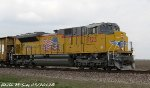 Brand New UP SD70ACe 8723 leads UP MASCH-25