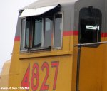 UP 4827 cab