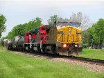 UP 9426, FXE 4028, & FXE 4029 lead MPRPB-12.
