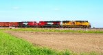 UP 3906, FXE 4676, & FXE 4618 lead MPRPB-21.