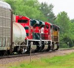 UP 5188, FXE 4040, & FXE 4037 lead MPRPB-26