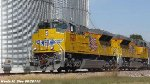 Brand new UP SD70ACes 8688 & 8698 lead SJLDE-29