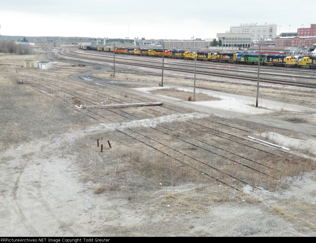 Abandoned Union Pacific Yard at Lincoln, NE