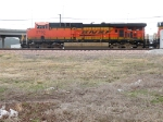 BNSF 5750 leaving for Omaha