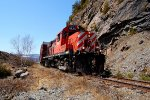 Chemin de fer de Charlevoix(CFC) RS18u ex CP #1835