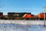 CN ex UP; SD40-2 #5368