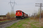 CN 120, advanced of carrier